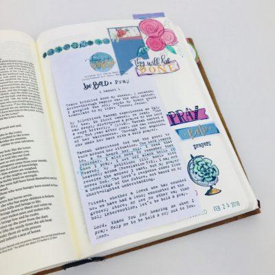 Bible Journaling: My Favorite Teachers and  Websites