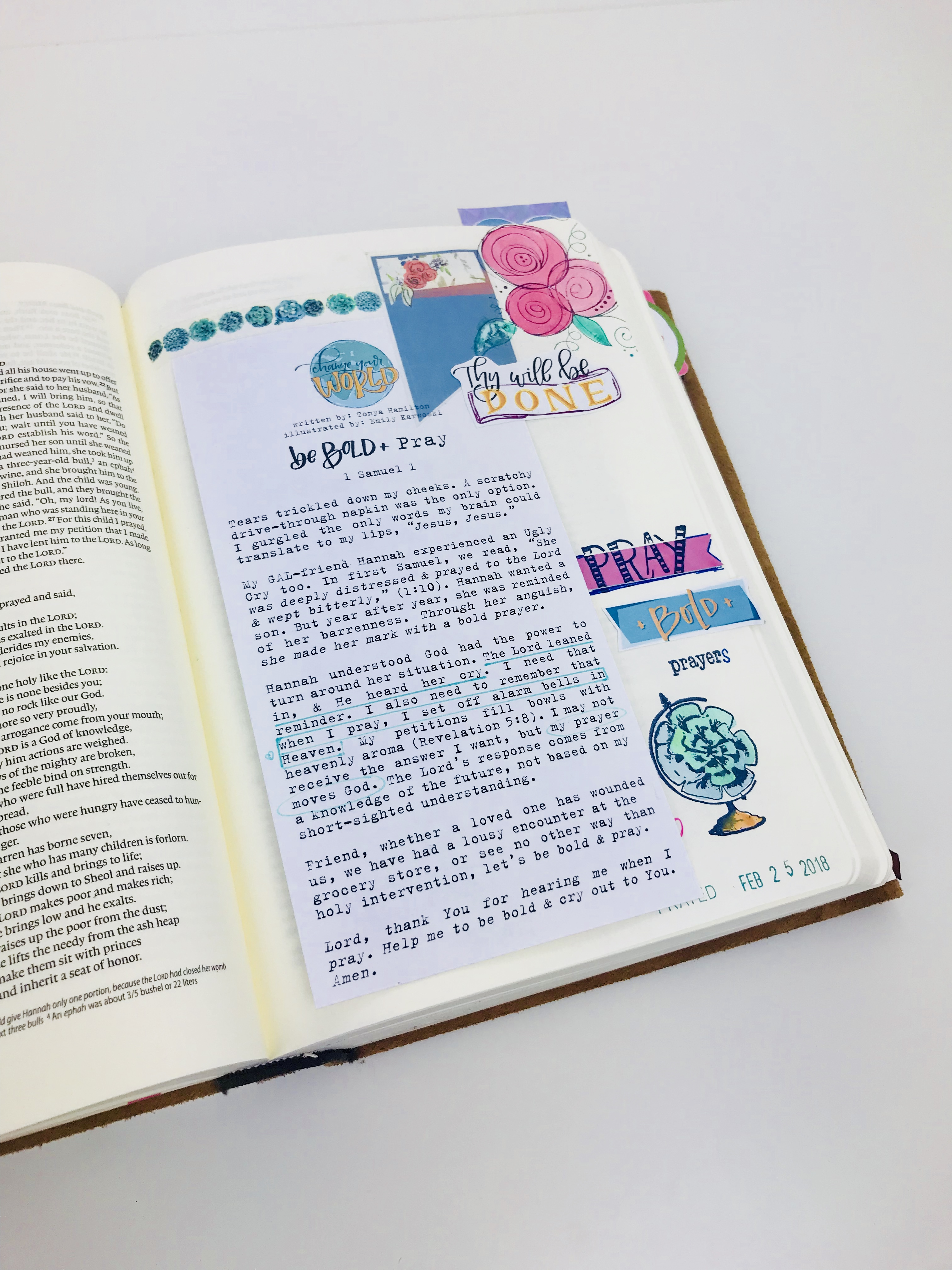 Bible Journaling: My Favorite Teachers and  Websites