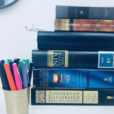 Bible Study: Tools that help me understand