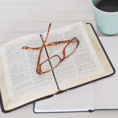 5 WAYS TO START CONNECTING WITH GOD'S WORD